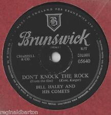 "Bill Haley Don't Knock The Rock 10""Single 1957 / 78 rpm"