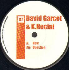 DAVID GARCET & K.HOCINI - Now / Question - Workbench