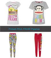 Primark PAUL FRANK Julius Monkey & Food Leggings Pyjama Pants & T Shirt Pieces