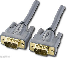 NEW ROCKETFISH 8' HIGH-PERFORMANCE SVGA CABLE RF-PCC114 IE805 GOLD PLATED PC/MAC