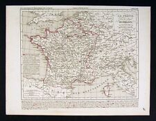 1841 Houze Map - France of Louis XVI 1774-1793 - Europe
