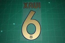 Barcelona 06/07 #6 XAVI Homekit / Awaykit Nameset Printing