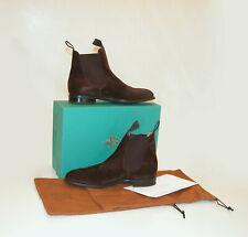 Edward Green Mink Suede Newmarket Chelsea Boots - Sz. 8 / US 9.5? ~ $1,520 *NIB