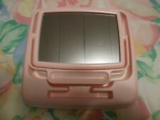 Vintage (1980s) Mary Kay Pink Consultant 2-sided Mirror and Demo Tray