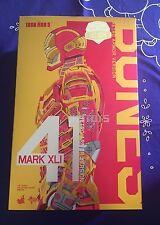 Hot Toys 1/6 Iron Man 3 Mark 41 MK XLI Bones Retro Armor Version MMS412 Japan