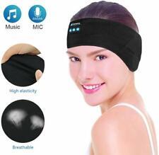 Wireless Bluetooth Headband, E-More Washable Adjustable Sleep Headphones  Sport