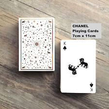 **VERY RARE GIFT  A DECK OF POKER PLAYING CARDS FROM CHANEL for Chanel Lovers