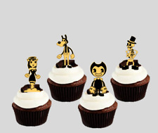 Bendy & the Ink Machine Edible Wafer Stand-up Cupcake Toppers (uncut)
