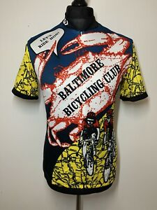 Louis Garneau Baltimore Bicycling Club Cycling Jersey Short Sleeve Shirt XL