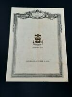Locke-Ober Winter Place Dinner Menu Boston Massachusetts 1939
