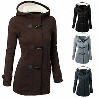 Fashion Winter Warm Women Hooded Trench Coat Jacket Ladies Parka Overcoat