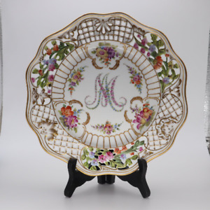 Dresden Marie Antoinette Plate By Carl Thieme Active