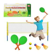 NEW M.Y RACKET NET SHUTTLECOCK BADMINTON TENNIS PLAY SET FUN OUTDOOR FAMILY GAME