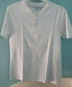 men's t-shirt S  - pale grey
