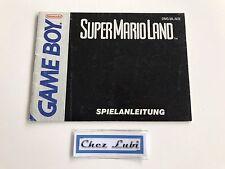 Notice - Super Mario Land - Nintendo Game Boy - PAL NOE