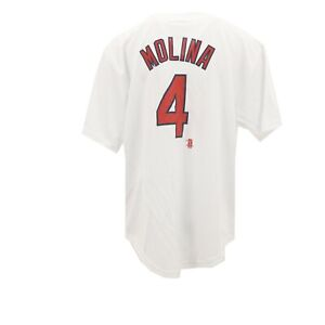 St. Louis Cardinals Official MLB Genuine Kids Youth Size Yadier Molina Jersey