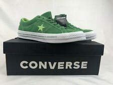 Converse One Star Pinstripe Ox Mens 11 Mint Green Lime 159816C NIB