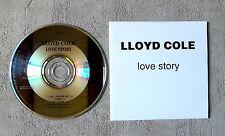 "CD AUDIO INT / LLOYD COLE ""LOVE STORY"" CD  PROMO 5 TITRES 1995 FONTANA RARE"