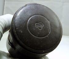 "Genuine Minolta Leather Lens Case 4 x 3 x 3"" OD Rokkor TC rangefinder small"