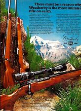 1980 Weatherby 300 Mark V Magnum Vanguard Mark XXII Rifle AD ...