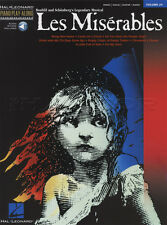 Les Miserables Piano Play-Along Sheet Music Book & Backing Tracks Audio