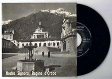 NOSTRA SIGNORA, REGINA D'OROPA- ECO 1035- 45 giri EP - SANTUARIO