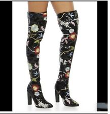 Womens Over The Knee Sequin Boots Size: 8