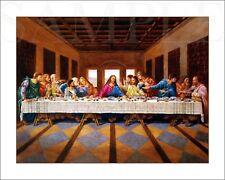 The Last Supper Picture 8X10 New Fine Art Color Print Jesus Christ Vintage Old