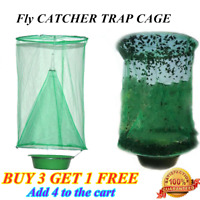 Fly Trap Reusable Hanging Folding Trap Catcher Flytrap Effect Pest Control ACE