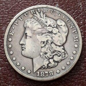 USA Morgan Silver Dollar 1878 CC Carson City