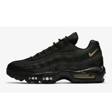 RARE🔥 Nike Air Max 95 Premium SE Black Gold Reflective Sz 10 924478-003 Men's
