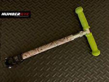 Kiddimoto Scooter Parts - Dinosaur Front Frame & Neon Green Grip Handle Bar +Pin