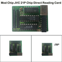 For Sega Saturn Modchip V3 21p Chip Direct Reading Card + 21 Pin Cable Replace