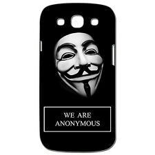 Coque 3 D Téléphone - SAMSUNG GALAXY S3 - WE ARE ANONYMOUS