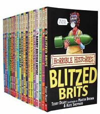 Horrible Histories Collection 20 Books Set Pack [Paperback] [Jan 01, 2010] Terry