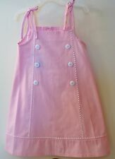 * BNWT *  Bella Bliss Pink Gigi Rick-Rac & Buttons Dress Size 12 Month ~ Pretty