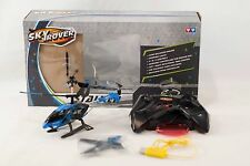 Sky Rover Stalker Radio Controlled Helicopter Auldey Blue Helio YW856611