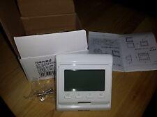 Menred E51.716 230V 16A IP20 termostato digital para calefacción Infrarroja De Aluminio