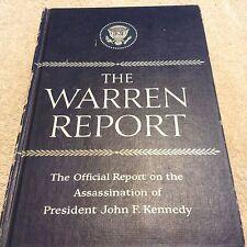 1964 The Warren Report   on the Assassanation of President John F Kennedy Book
