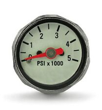 "Mini SPG - PSI 7/16"" High Pressure Regulator Pony Compact Button Gauge"