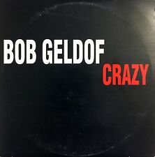Bob Geldof CD Single Crazy - Promo - France (VG+/EX)