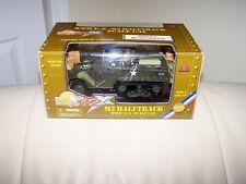 2002- ULTIMATE SOLDIER - 32X- M2 HALFTRACK- WWII U.S. 1/32 SCALE- FACTORY SEALED