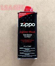 Zippo 4oz Can Fuel Fluid for All Zippo Lighters 4FC-Z