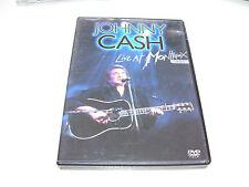 Johnny Cash - Live At Montreux 1994 * DVD 2005 DTS PAL *