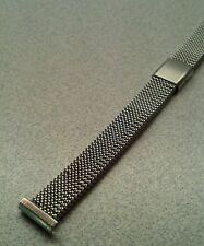 Ladies Vintage NOS Evinger 13mm Stainless Mesh Expansion Watch Band