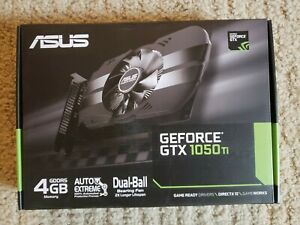BRAND NEW ASUS Phoenix NVIDIA GeForce GTX 1050 Ti 4GB ✅FAST FREE SHIPPING ✅