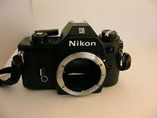 NIKON SLR Camera Black + Nikon + WORKS Vintage EM 35 mm