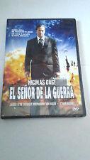 """DVD """"EL SEÑOR DE LA GUERRA"""" PRECINTADA ANDREW NICCOL NICOLAS CAGE JARED LETO"""