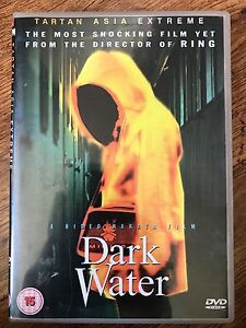 Dark Water DVD Original 2002 Japanese Horror Movie Classic Tartan Asia Extreme