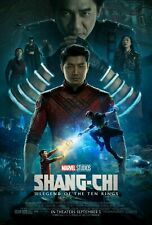 Shang-Chi And The Legend Of The Ten Rings 2021 Movie Poster A3A4 Wall art studio